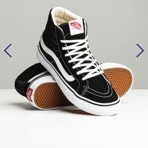 Vans high top shoe